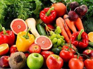 Собирать пазл Плодоовощной магазин онлайн