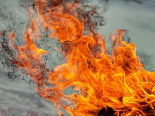 Собирать пазл Пляска огня онлайн