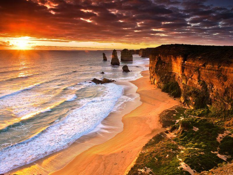 Пазл Собирать пазлы онлайн - Побережье Австралии