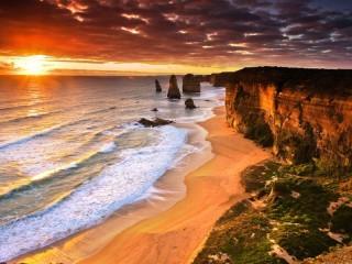Собирать пазл Побережье Австралии онлайн