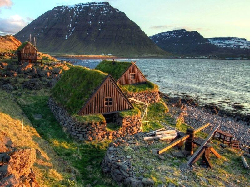 Пазл Собирать пазлы онлайн - Побережье Исландии