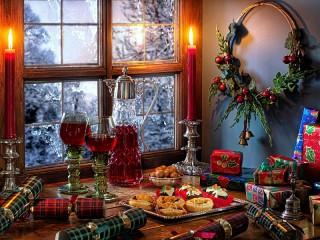 Собирать пазл Почти Рождество онлайн