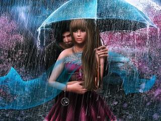 Собирать пазл Под звуки дождя онлайн