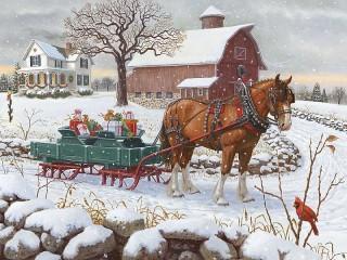 Собирать пазл Подарки к празднику онлайн