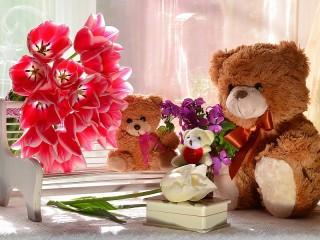 Собирать пазл Подарок из детства онлайн