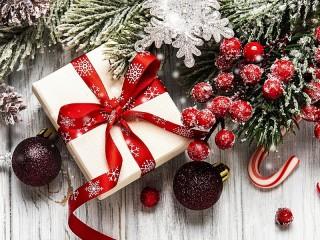 Собирать пазл Подарок в коробке онлайн
