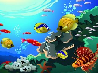 Собирать пазл Подводный мир онлайн