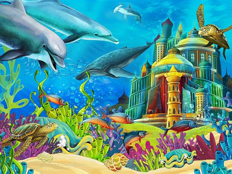 картинки сказки подводный мир эритема относится