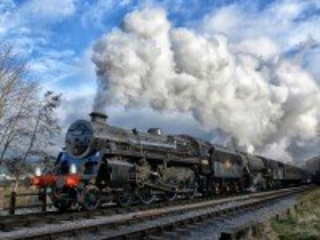 Собирать пазл Поезд онлайн