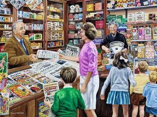Собирать пазл Покупка газеты онлайн
