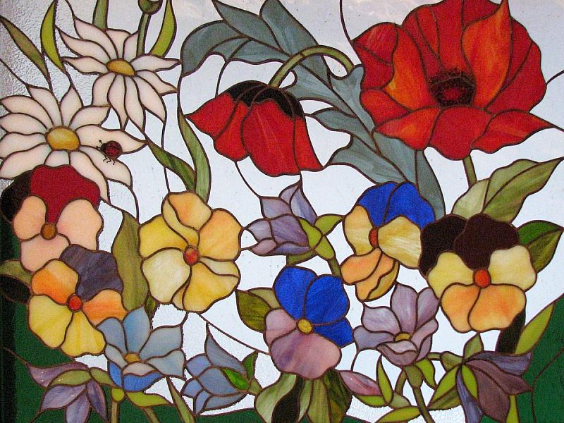 Пазл Собирать пазлы онлайн - Полевые цветы