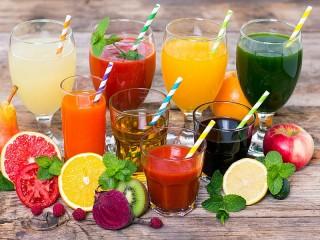 Собирать пазл Полезные напитки онлайн