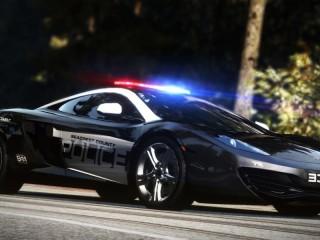Собирать пазл Полицейская машина онлайн