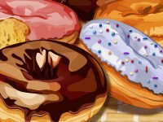 Собирать пазл Пончики онлайн