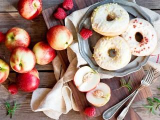 Собирать пазл Пончики и нектарины онлайн