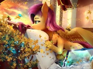 Собирать пазл Пони онлайн
