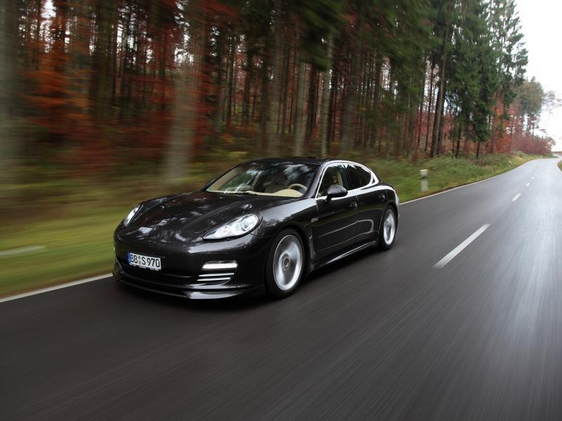 Пазл Собирать пазлы онлайн - Porsche Panamera