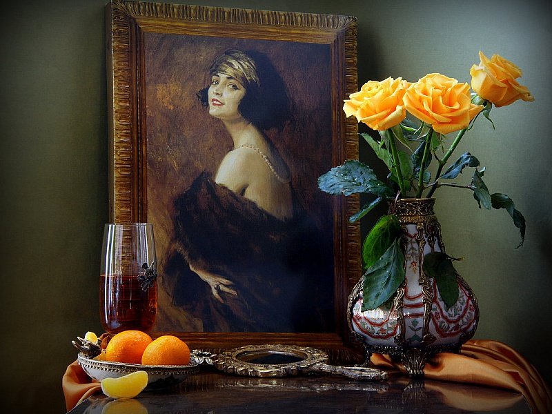 Пазл Собирать пазлы онлайн - Портрет