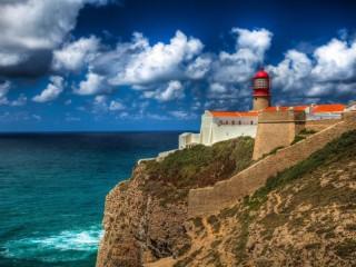 Собирать пазл Португалия маяк онлайн