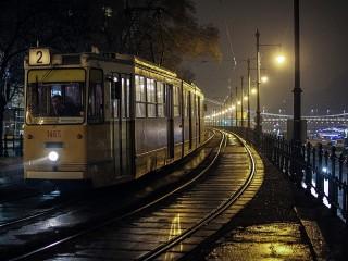 Собирать пазл Последний трамвай онлайн