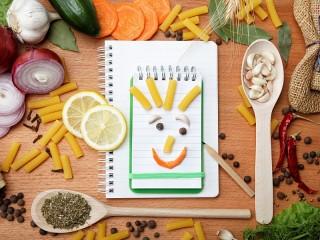 Собирать пазл Позитивные продукты онлайн