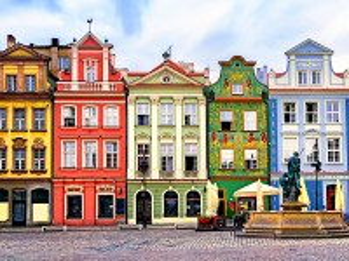 Собирать пазл Познань Польша онлайн