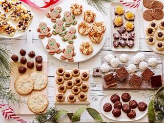 Собирать пазл Праздничные печеньки онлайн