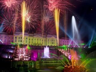 Собирать пазл Праздник фонтанов онлайн