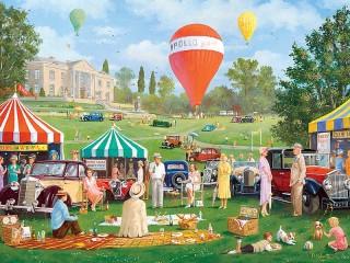 Собирать пазл Праздник шаров онлайн