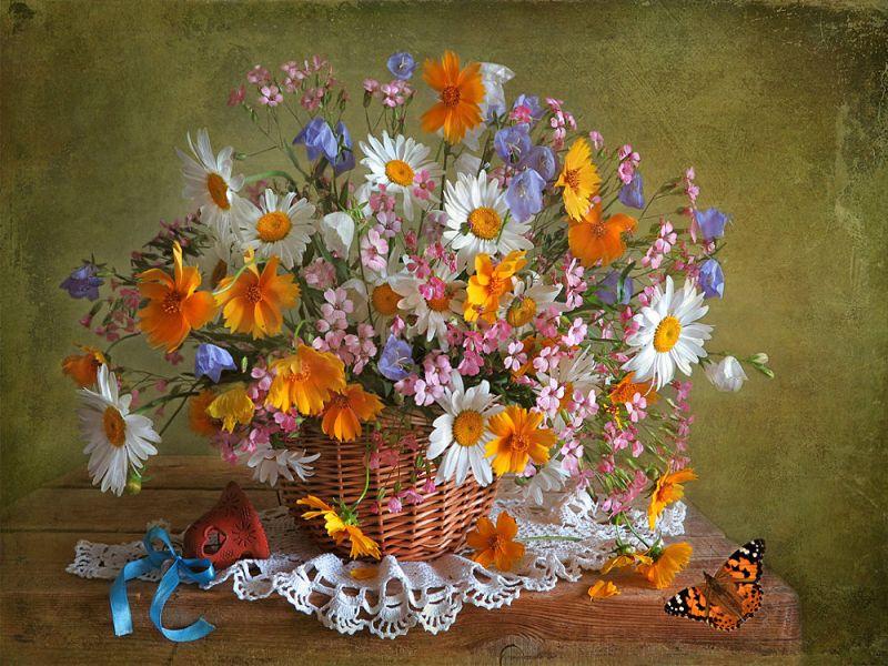 Пазл Собирать пазлы онлайн - Праздник цветов