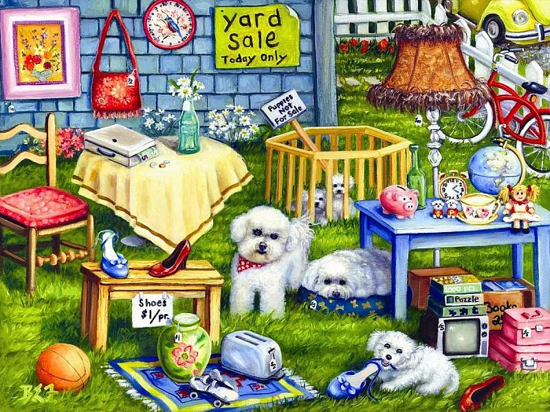 Пазл Собирать пазлы онлайн - Предметы для собак