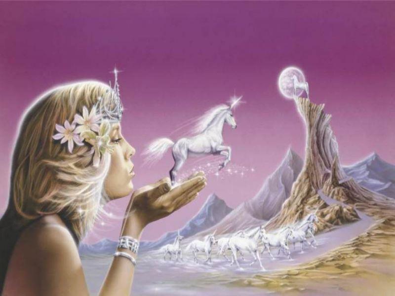 Пазл Собирать пазлы онлайн - Принцесса