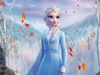 Собирать пазл Принцесса Эльза онлайн