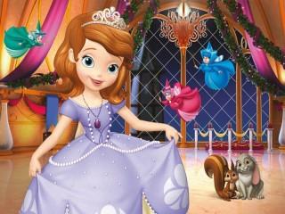 Собирать пазл Принцесса София онлайн