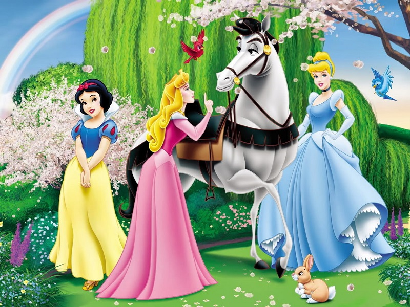 Пазл Собирать пазлы онлайн - Принцессы