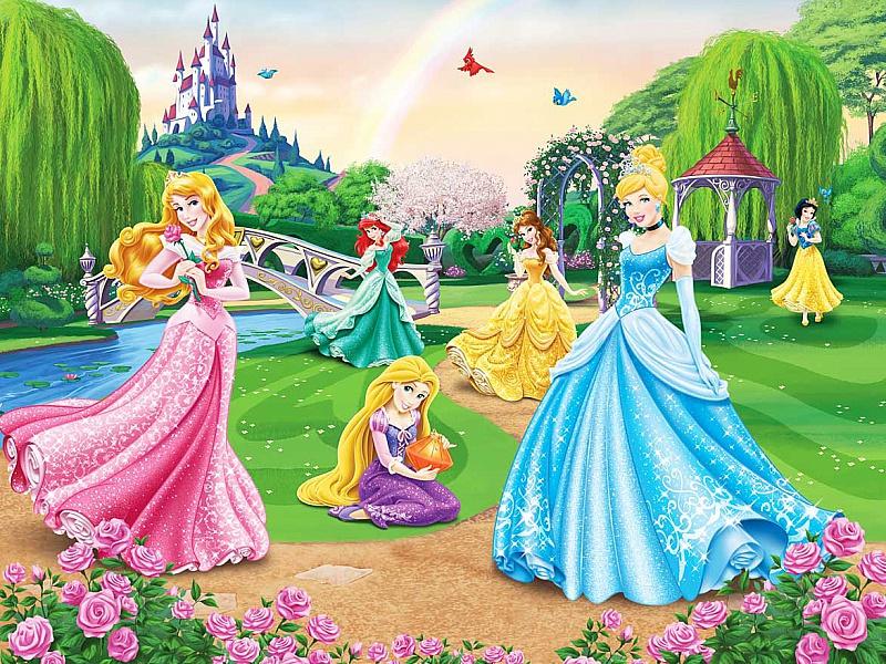 Пазл Собирать пазлы онлайн - Принцессы Disney