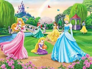 Собирать пазл Принцессы Disney онлайн