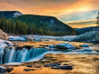 Собирать пазл Природа Канады онлайн