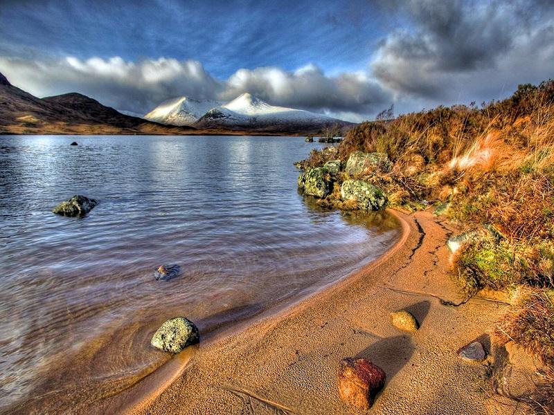 Пазл Собирать пазлы онлайн - Природа Шотландии