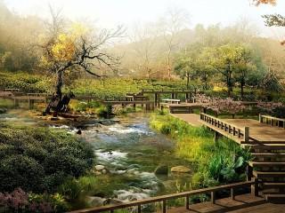Собирать пазл Природа Японии онлайн