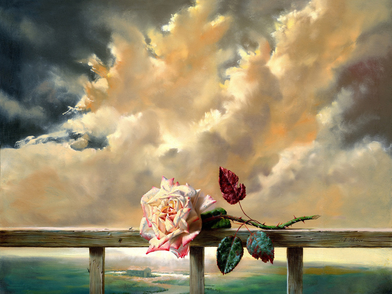 Пазл Собирать пазлы онлайн - Просто роза