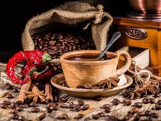 Собирать пазл Пряный кофе онлайн