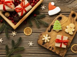 Собирать пазл Пряники и подарки онлайн