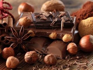 Собирать пазл Пряности и шоколад онлайн