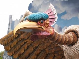 Собирать пазл Птица Рокх онлайн