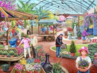 Собирать пазл Радость садовода онлайн