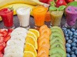 Собирать пазл Радуга витаминов онлайн