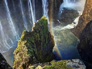 Собирать пазл Радужный каньон онлайн