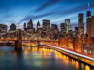 Собирать пазл Район Манхэттен онлайн