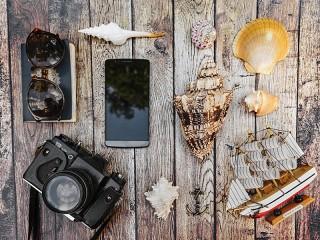 Собирать пазл Ракушки и камера онлайн